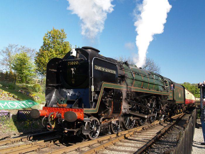 71000 DUKE OF GLOUCESTER Standard Steam Locomotive Class 8P