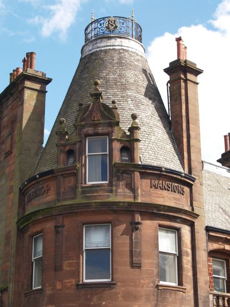 Glasgow  1  Some Buildings And Streets Sauchie Hall Street