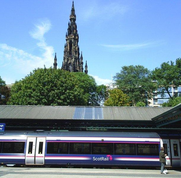 Waverley Station Edinburgh Scotland Edinburgh Waverley Station