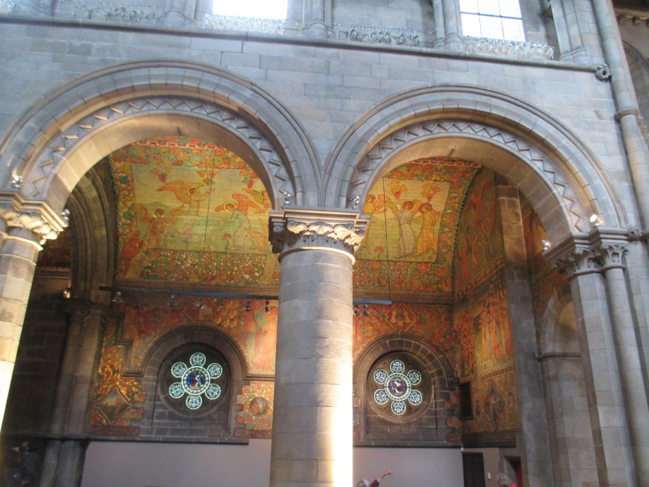 Mansfield traquair centre edinburgh wall mural paintings for Edinburgh wall mural