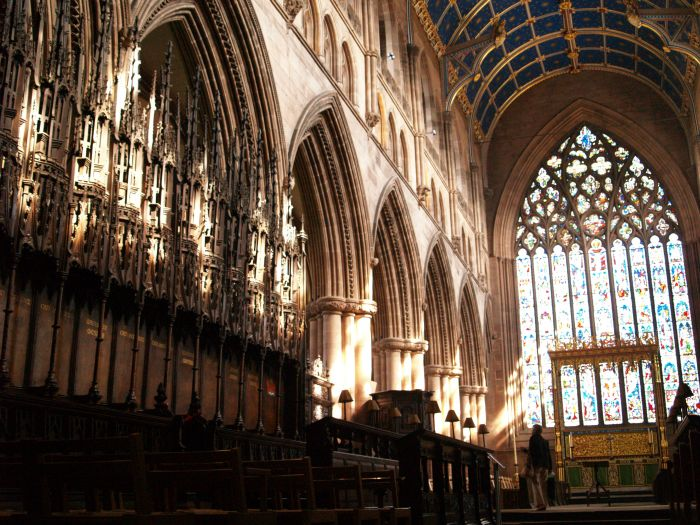 Carlisle Cathedral History Archtecture Fratry Misericords