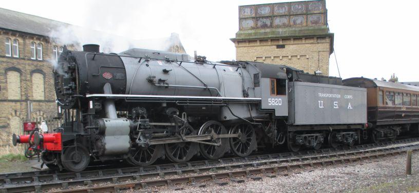 6046 5820 Big Jim 2253 steam locomotives USA Class S160 2-8