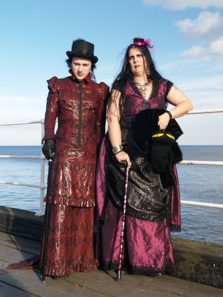 Whitby Goth Weekend Scenes 'parade of the Gothic Goths'! images ...