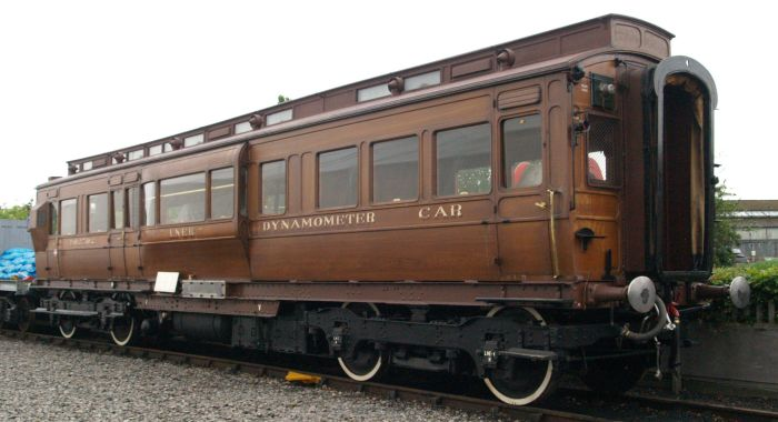 Lner dynamometer car for Car carriage