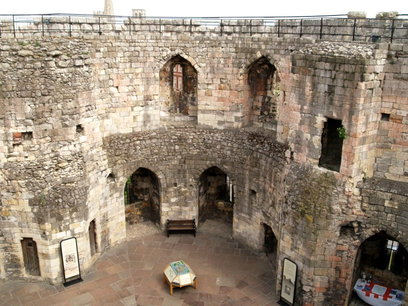 York Castle Clifford S Tower England History Architecture