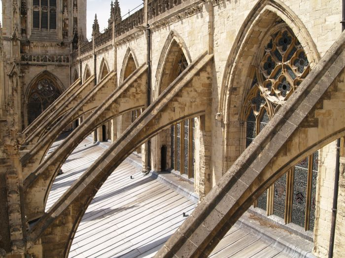 Flying Buttresses The South West Exterior Architecture Of York Minster
