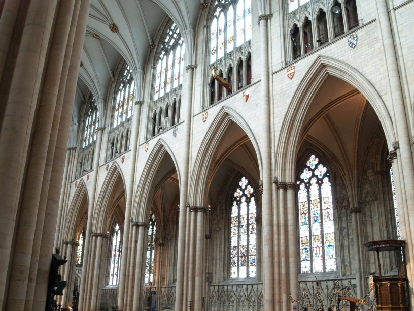 The Interior Of Nave YORK MINSTER