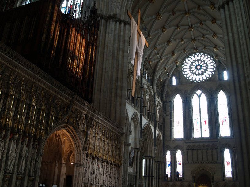 South Transept Of York Minster St George S Chapel Stained
