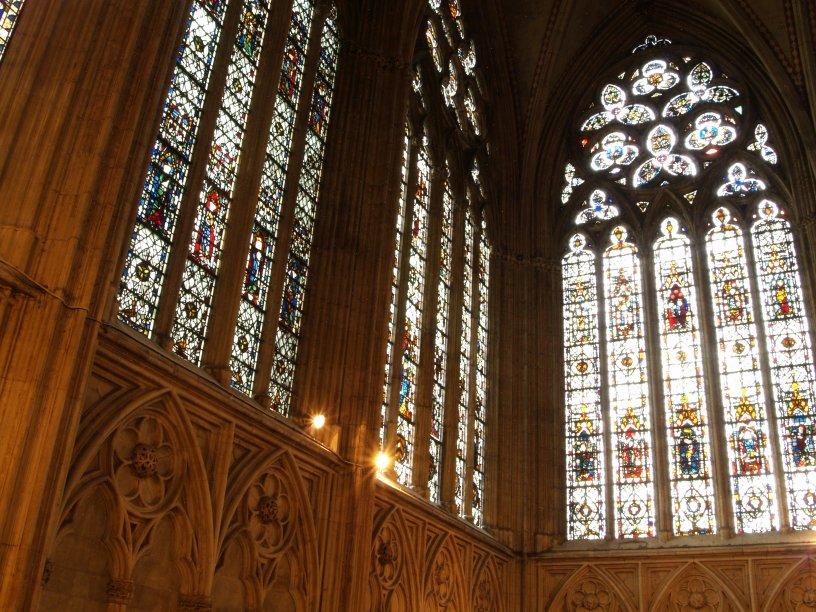 The vestibule of york minster for West window york minster