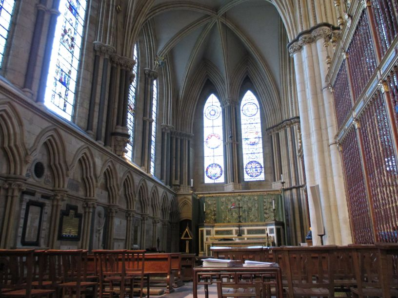 North transept york minster five sisters stained glass for West window york minster