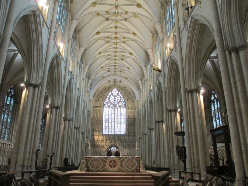 York minster fire 1840
