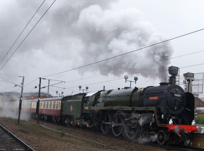 70000 BRITANNIA class Steam locomotive 4-6-2 Pacific BR