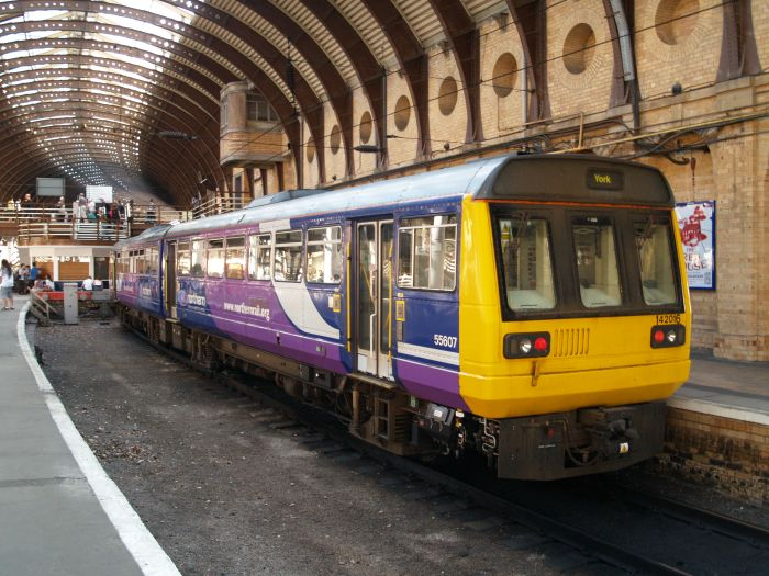 Northern Rail trains services stations routes images photos