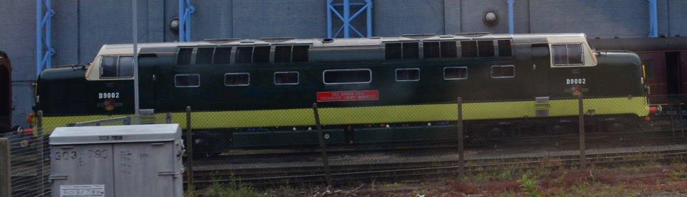 Class 55 DELTICS Co-Co Diesel-Electric Locomotives D9000