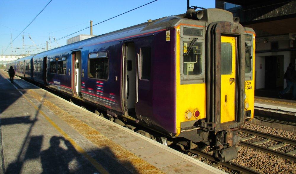 Class 317 Electric Multiple Units Brel Emus British Rail
