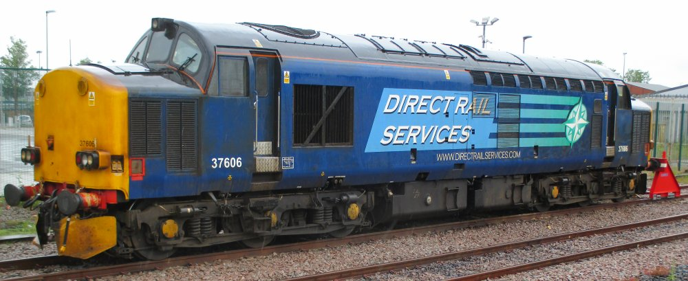 Class 37 English Electric Co-Co Type 3 Diesel locomotives