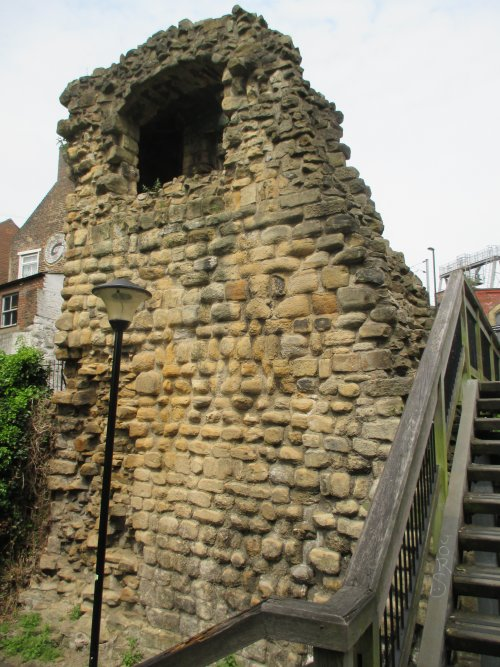 Medieval Walls Durham Herber Towers Newcastle Tourist