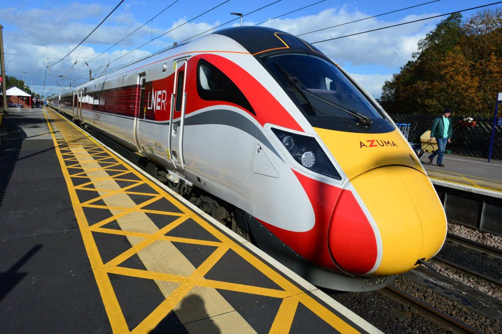 gcse physics uses of energy transport mainline express electric trains